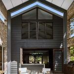 A modern barn style home in the Glasshouse Mountains