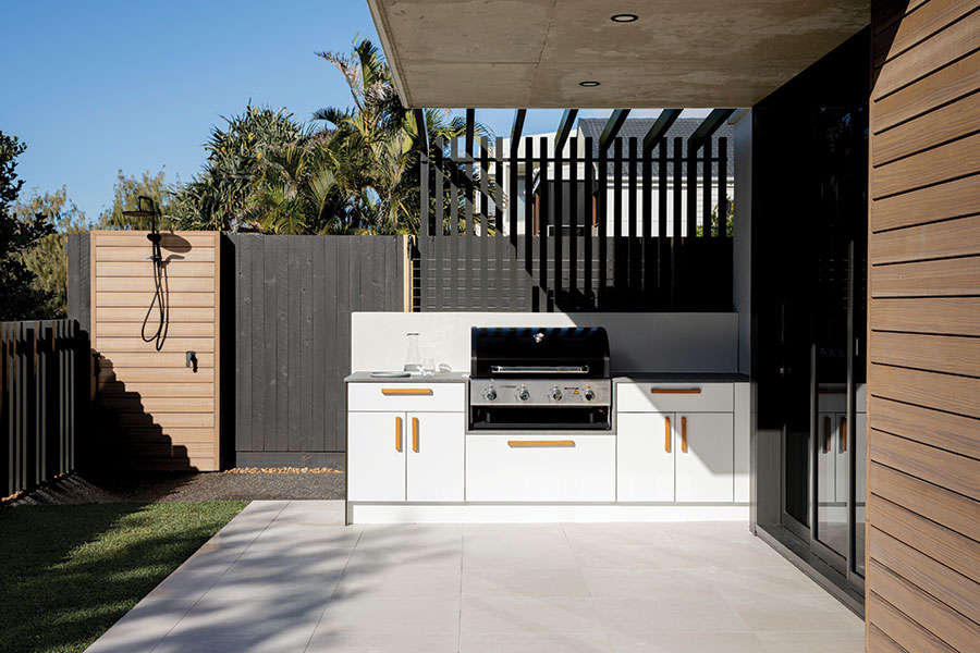 Creative Co. outdoor kitchen