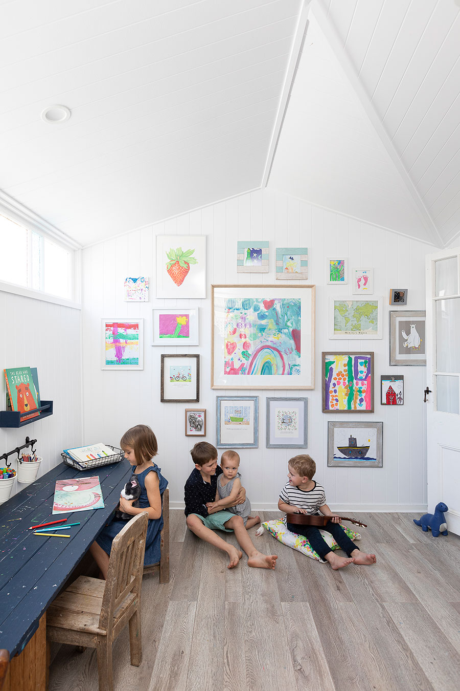 Renovated Queenslander home child's play room