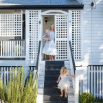 A renovated Queenslander home blending old and new