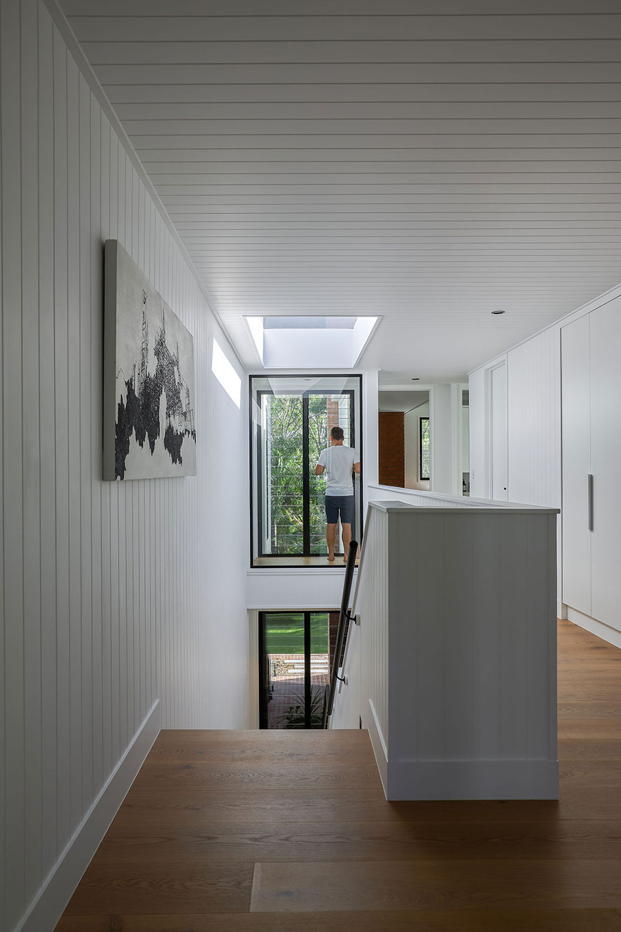 SMITH Architects modern family home stairwell