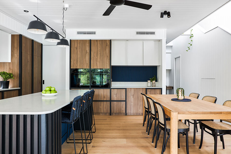 SMITH Architects modern family home kitchen