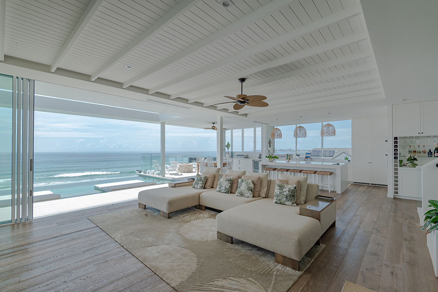 Chris Clout Design plantation style beach house