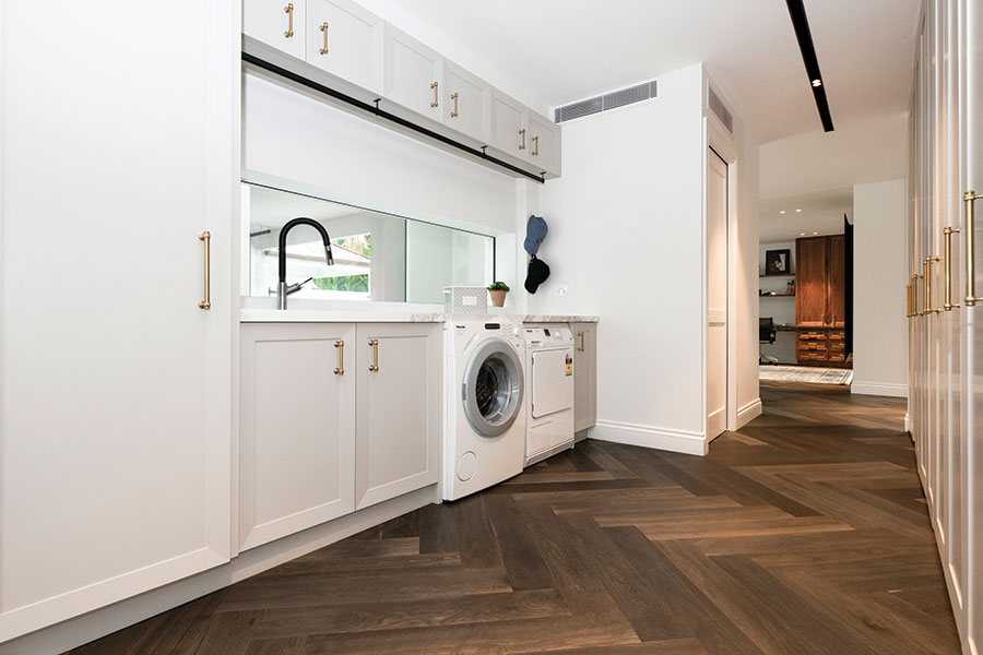 Style Kitchens by Design luxury laundry design