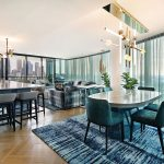 An inner-city apartment designed for chic urban glamour