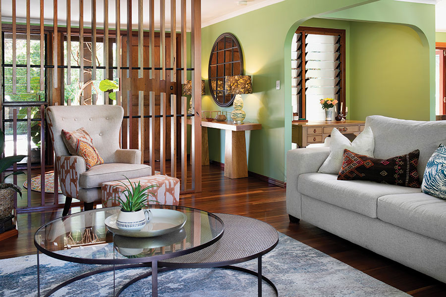 Ivy + Finch interiors lounge room