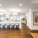 Finely detailed cabinetry adds the finishing touch to this luxury home