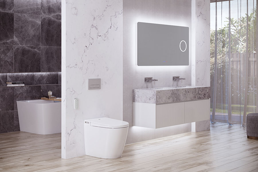 NCP bathrooms Evo smart toilet