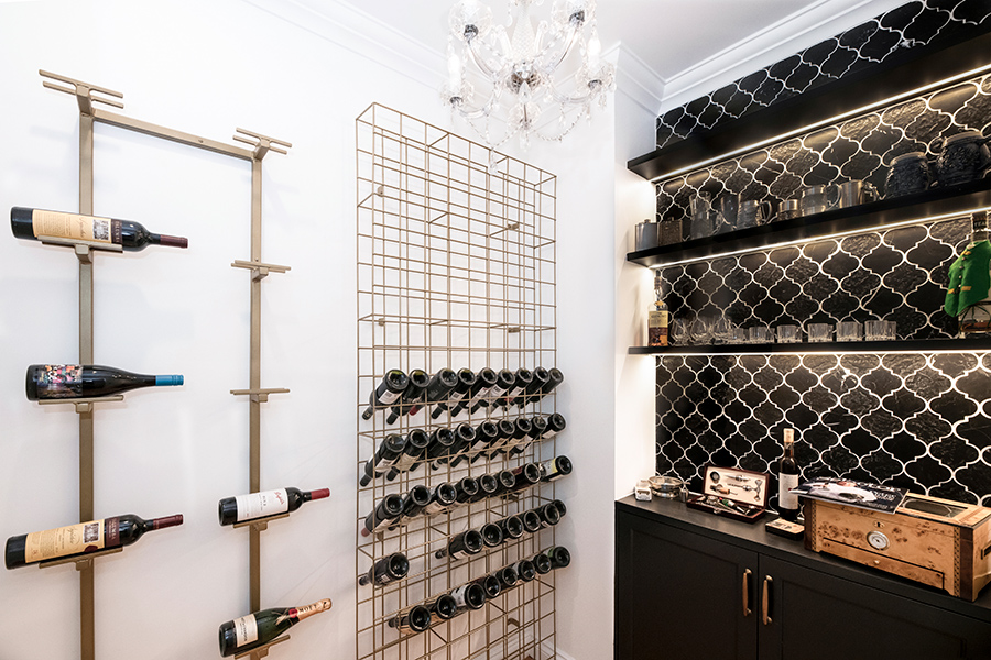 Style Kitchens by Design wine cellar