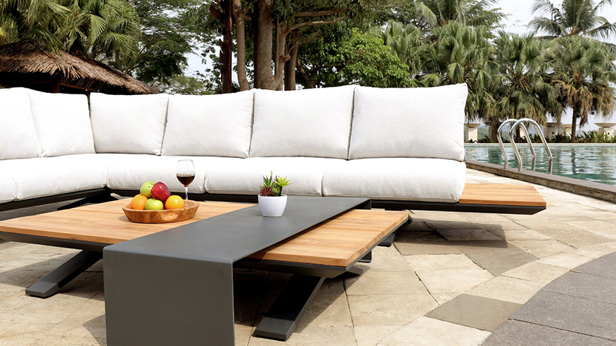Stockholm outdoor lounge Lume outdoor Living