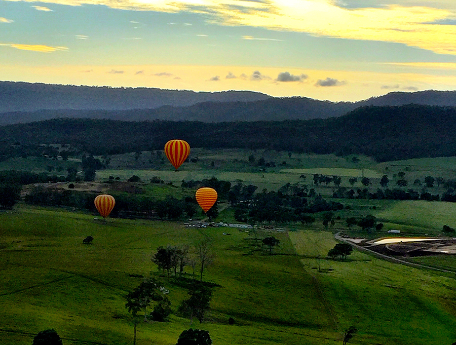Gold Coast Hot Air Balloon Tours @silvernomads