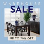 Don't miss Xavier Furniture's HUGE public Warehouse Sale (one day only!)