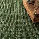 We're loving the fresh green hues of these latest rugs from Dash & Albert