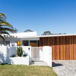 A contemporary home with hints of retro Palm Springs-style