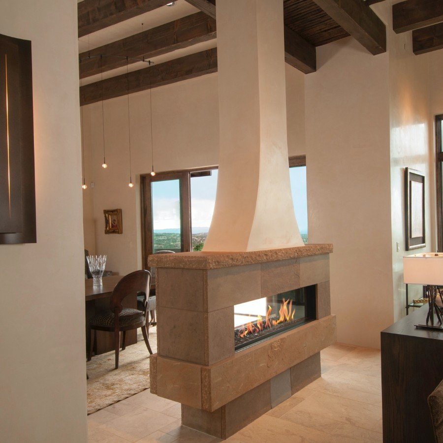 Ortal Tunnel gas fireplace