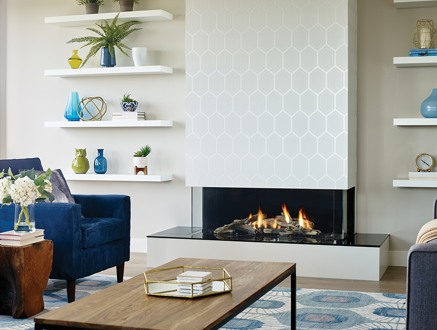 StyleFires gas fireplace