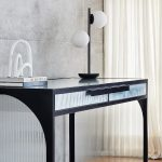 Create a well-designed work from home space with these stylish new home office pieces