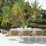 Alfresco entertaining is looking good this season with these coastal-style outdoor furniture pieces