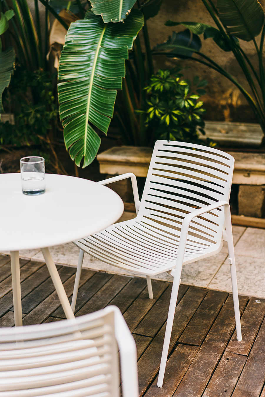 Cotswold Zebra outdoor dining chair